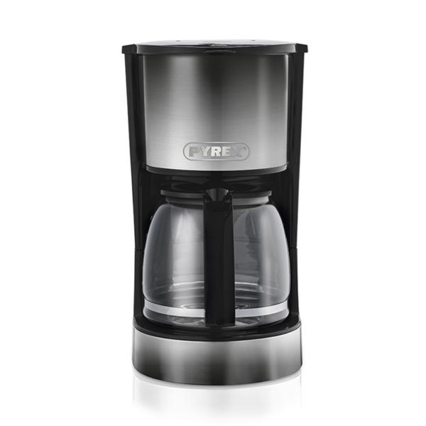 Pyrex Καφετιέρα Φίλτρου 800W με γυάλινη κανάτα 1.5lt για 12 Φλυτζάνια Ombre