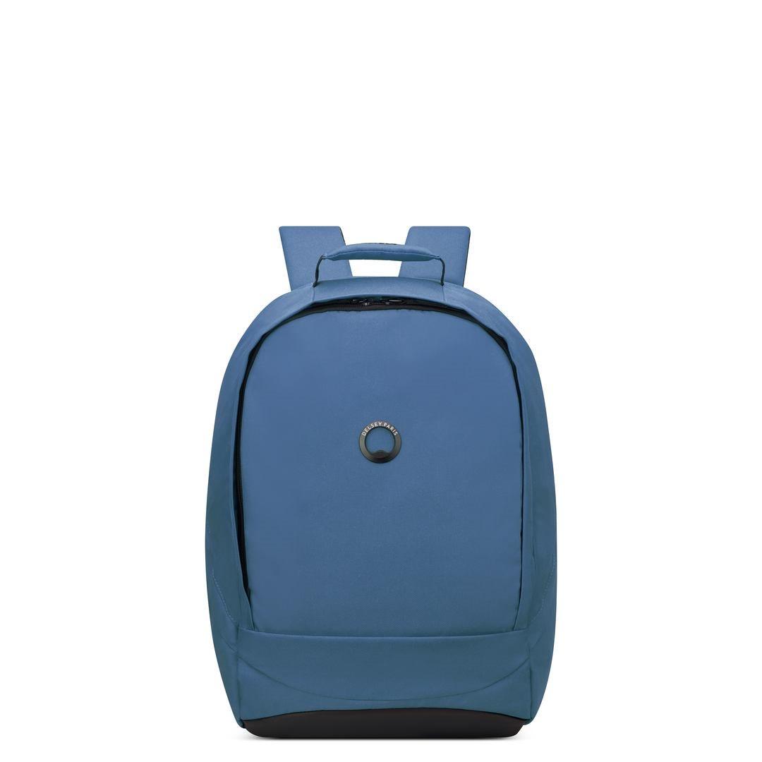 Delsey Σακίδιο πλάτης με θέση PC 15,6  48,5x32x17,5cm σειρά Securban Σκούρο Μπλέ