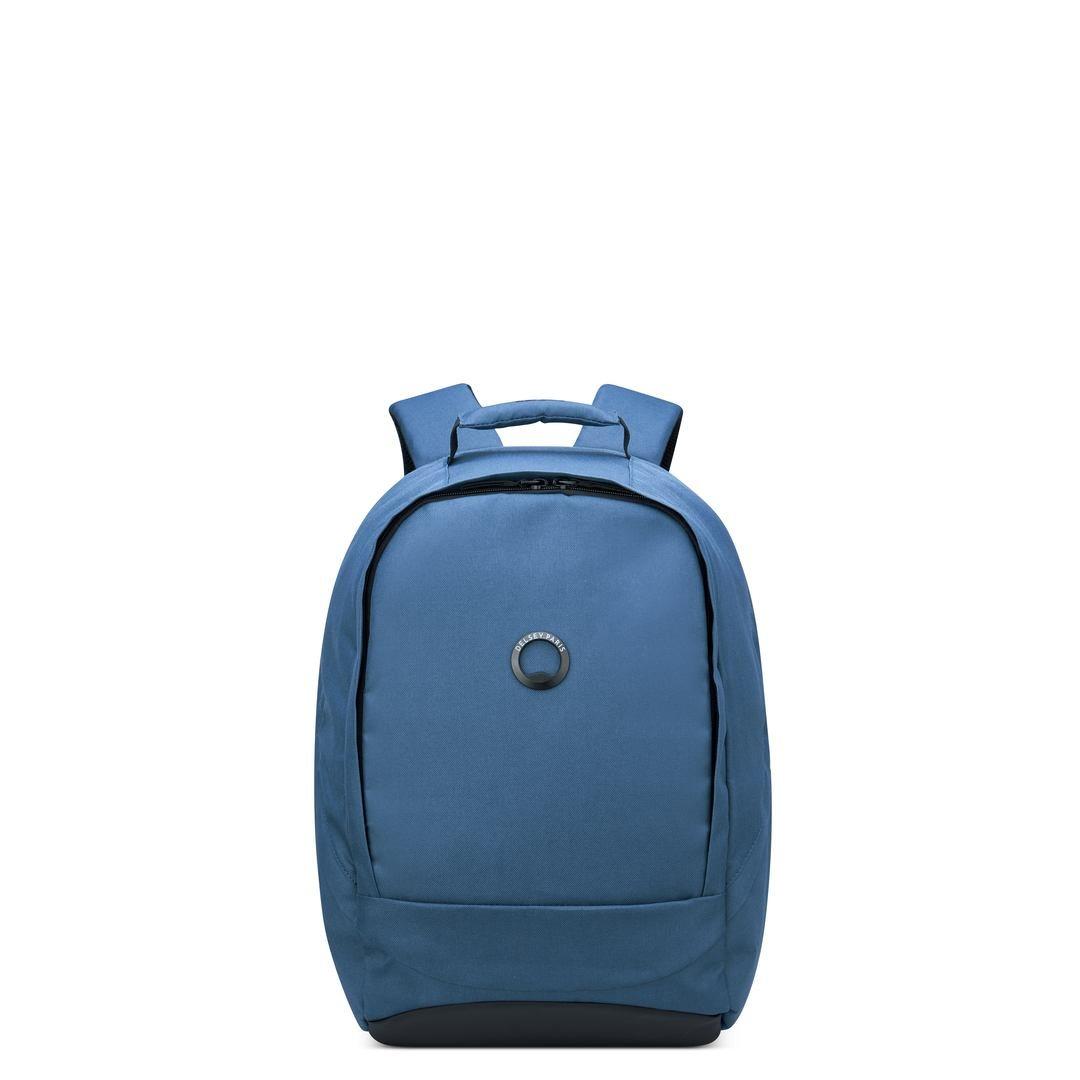 Delsey Σακίδιο πλάτης με θέση PC 13,3  45,5x29,5x16,5cm σειρά Securban Σκούρο Μπλέ