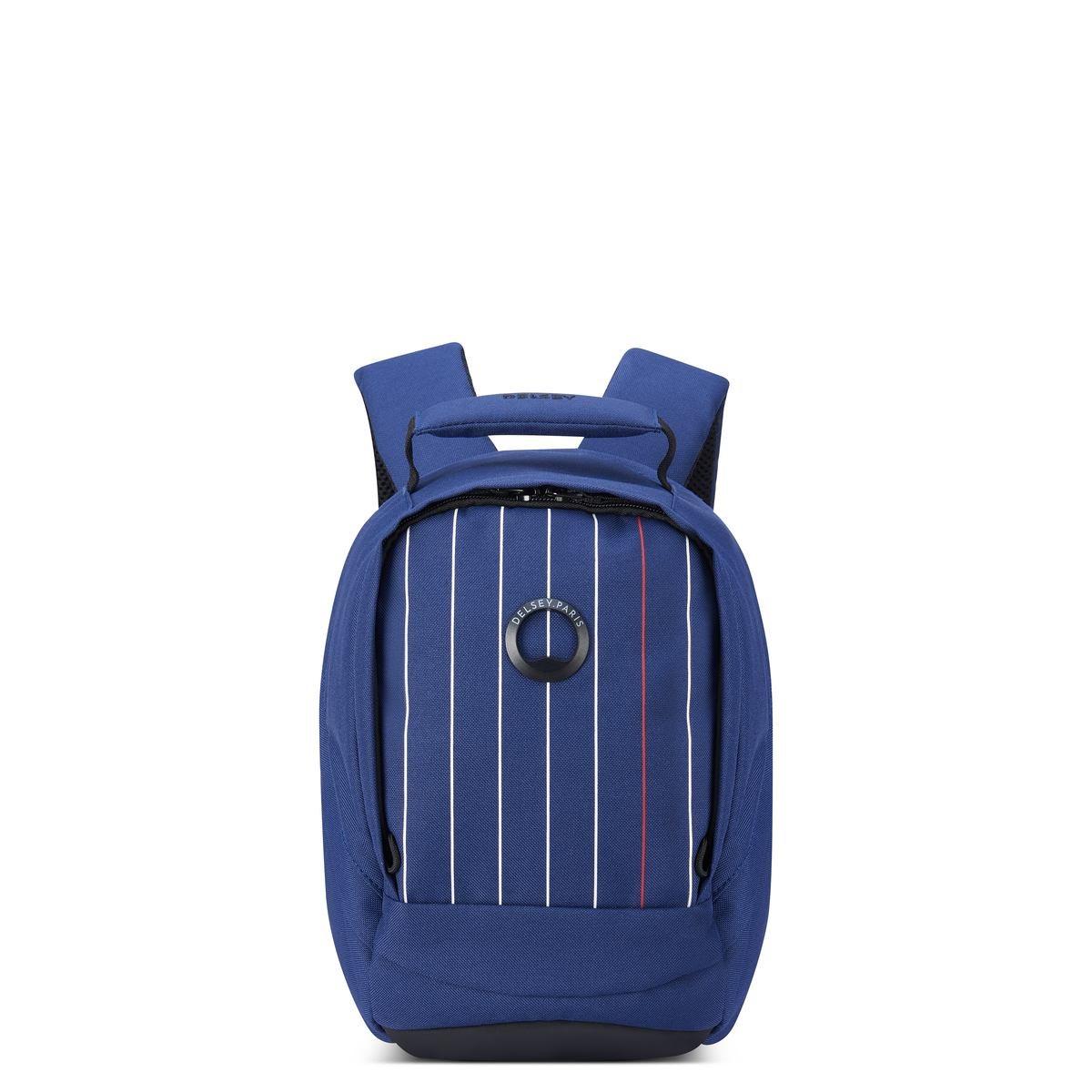 Delsey σακίδιο πλάτης 30.5x21.5x14.5cm Securban Micro Printed Blue