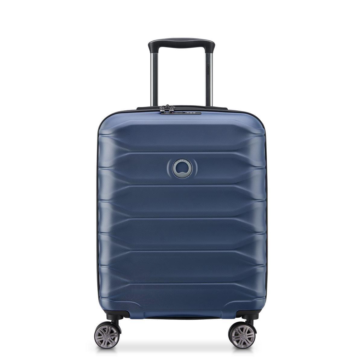 Delsey Βαλίτσα καμπίνας slim expandable 55x40x20/22cm σειρά Meteor Blue