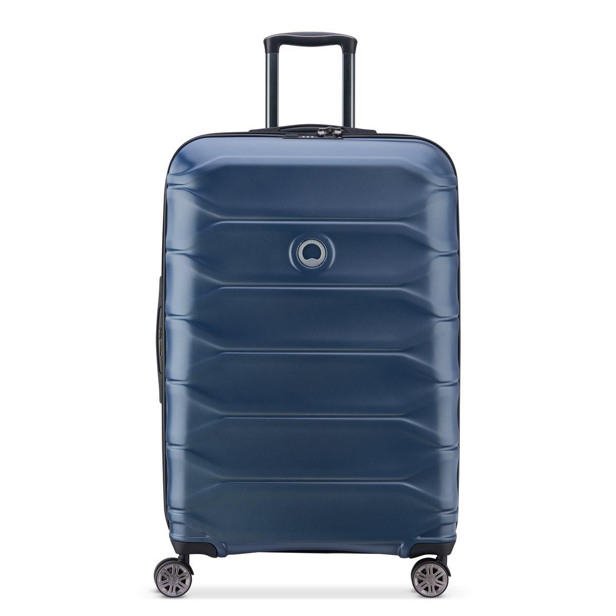 Delsey Βαλίτσα μεγάλη expandable 78x50x29.5/32.5cm σειρά Meteor Blue