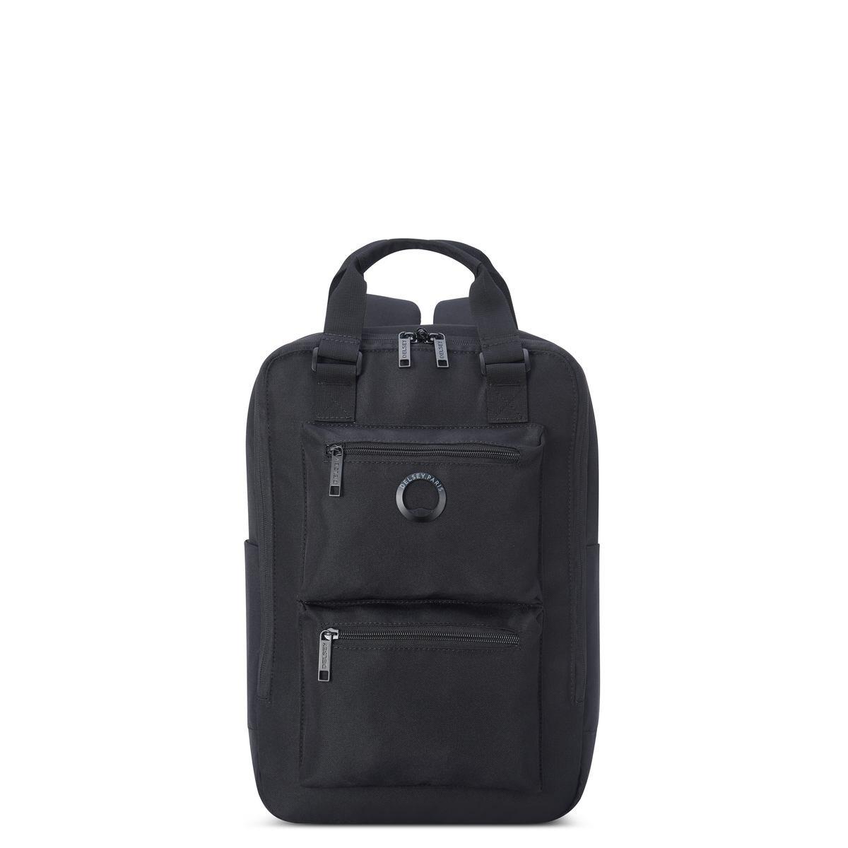 Delsey Σακίδιο πλάτης recycled 41x28.5x12.5cm για PC 15.6   σειρά Citypack Black