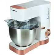Primo Κουζινομηχανή με Κάδο Inox 1200W CM8001-1 Λευκό/Rose Gold