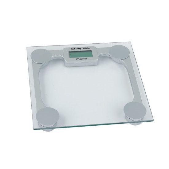 Primo Ψηφιακή Ζυγαριά Ασημί PRBS-40280 180kg