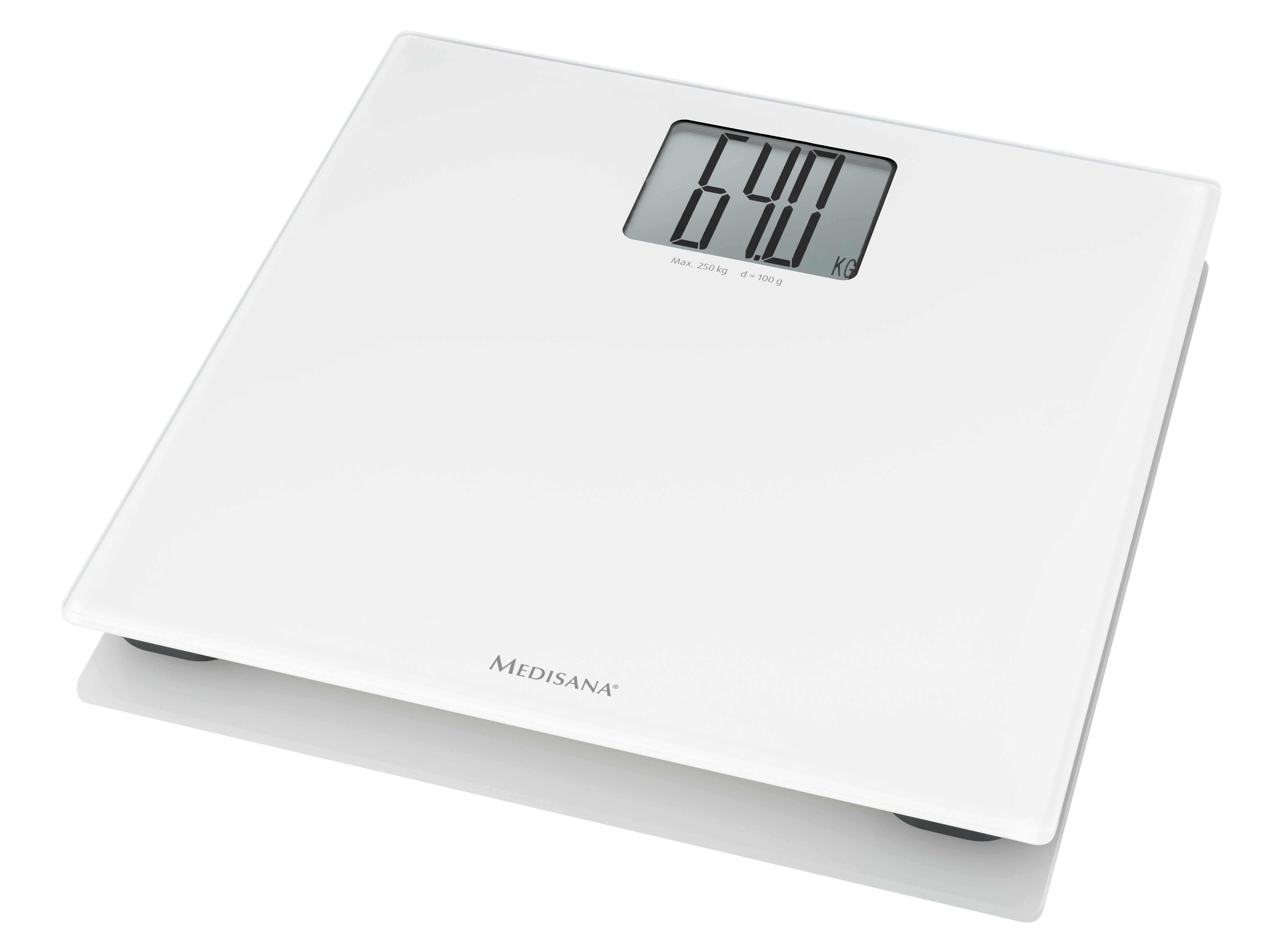 Medisana Ψηφιακή Ζυγαριά PS 470 XL Λευκή 250kg