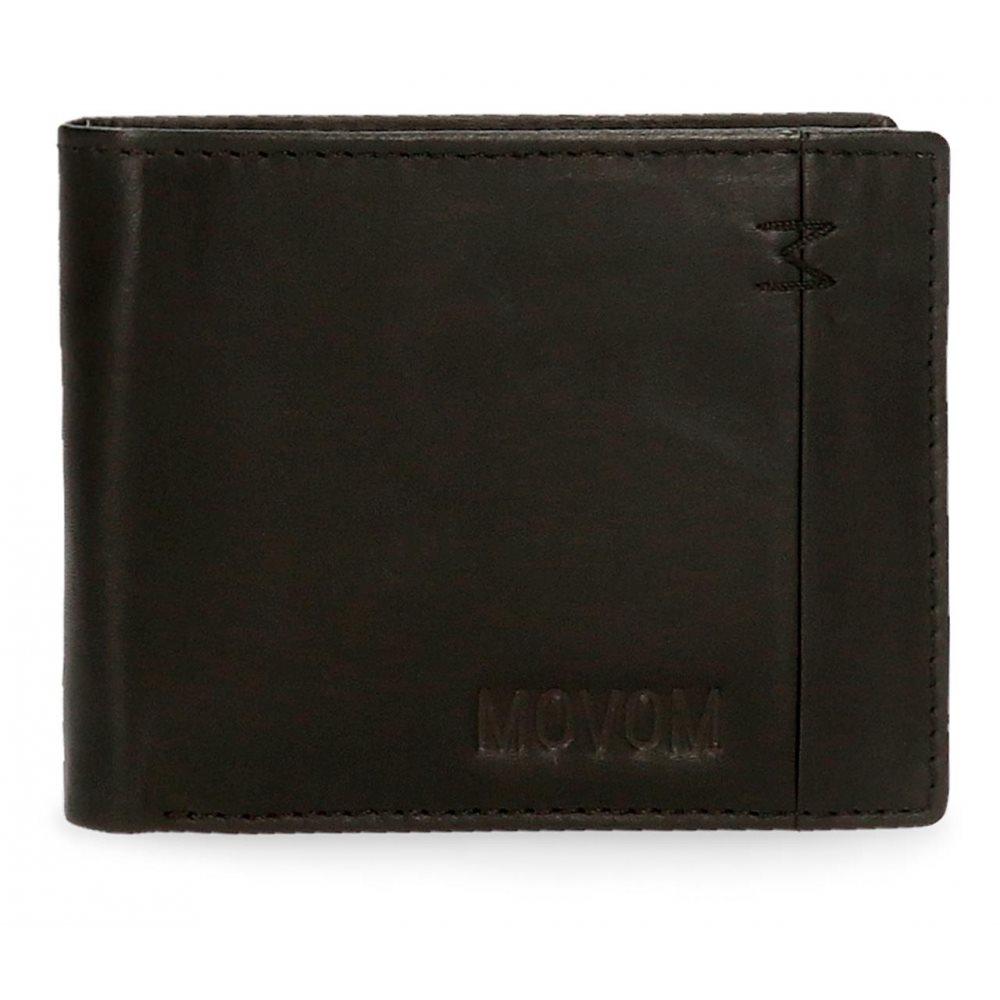Pepe Jeans Ανδρικό πορτοφόλι δερμάτινο 11x8.5x1cm Fantasy Negro