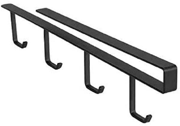 Wenko Βάση για Κούπες Μεταλλική σε Μαύρο Χρώμα Klea 53255100