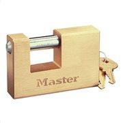 MasterLock Λουκέτο τάκος μπρούτζινος με ατσάλινο λαιμό 85mm
