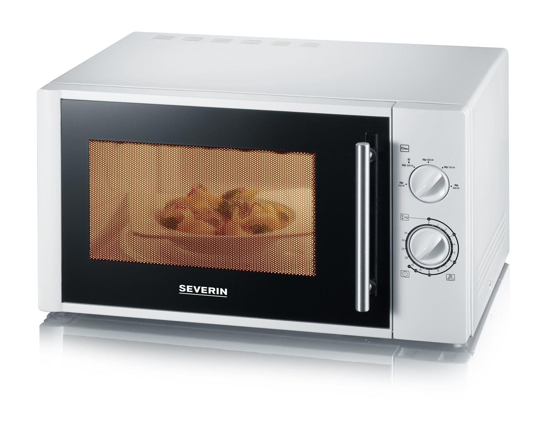 SEVERIN Φούρνος Μικροκυμάτων 28LT 900W Λευκός - 7873