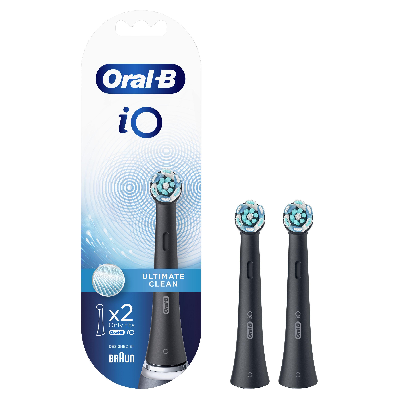 Oral-B Ανταλλακτικές Κεφαλές iO Ultimate Clean Black 2τμχ