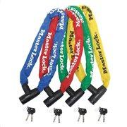 MasterLock Ατσάλινη αλυσίδα με κλειδαριά σε διάφορα χρώματα 0,9m Φ8mm