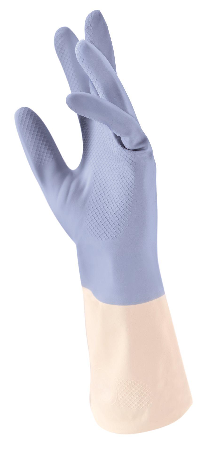 Tescoma Γάντια Lattex με Βαμβακερή Επίστρωση & Αλόη Profimate Medium