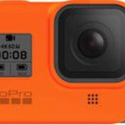 GoPro Sleeve + Lanyard for Hero8 Black Hyper Orange