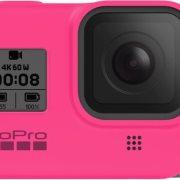GoPro Sleeve + Lanyard for Hero8 Black Electric Pink