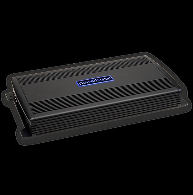 Powerbass ASA3-600.4 Ενισχυτής Δύο Καναλιών 2X400W RMS (Τεμάχιο)
