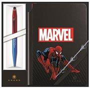 Cross Παιδικό Σετ Γραφικής Ύλης με Σημειωματάριο και Στυλό Spiderman Tech 2