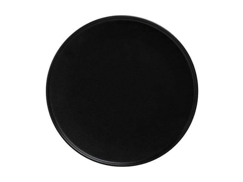 Maxwell & Williams Πιάτο Φαγητού με Ψηλό Χείλος Μαύρο Caviar 24,5cm