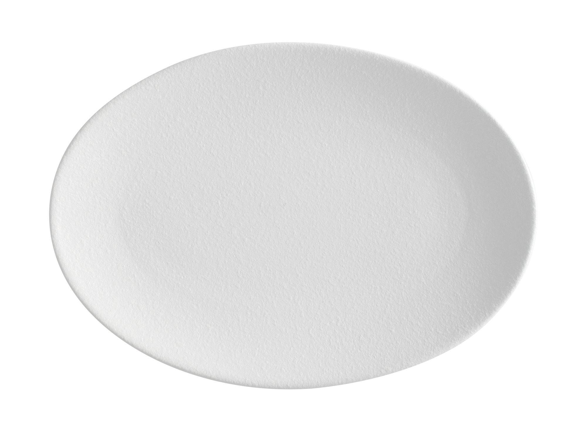 Maxwell & Williams Πιατέλα Οβάλ Λευκή Caviar 35x25cm