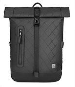 ARCTIC HUNTER τσάντα πλάτης B-00283-RMB με θήκη laptop αδιάβροχη μαύρη