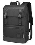 ARCTIC HUNTER τσάντα πλάτης B00361-BK με θήκη laptop αδιάβροχη μαύρη