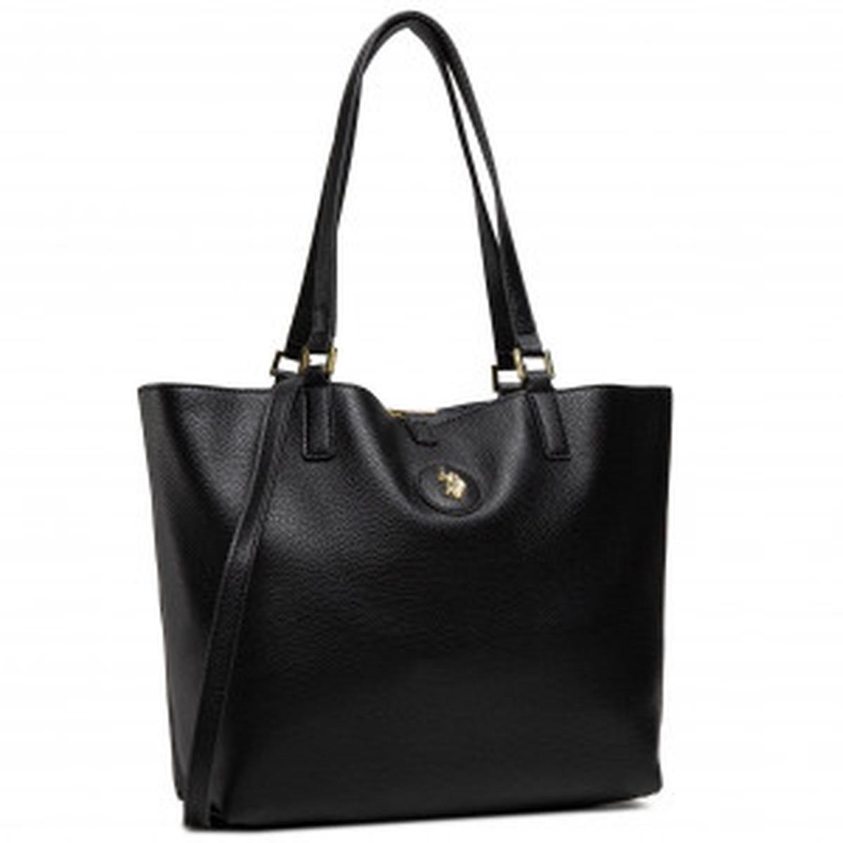 US Polo Assn. Τσάντα χειρός 3in1 28x14x27cm Malibu Black