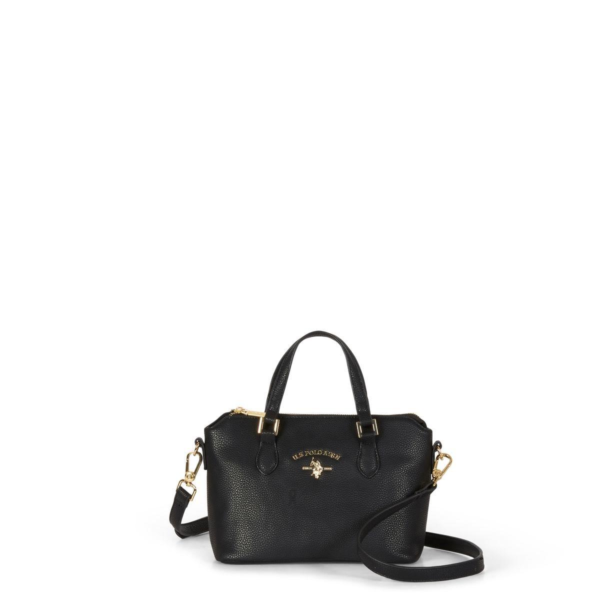 US Polo Assn. Τσάντα χειρός 24x14x18cm Stanford Black