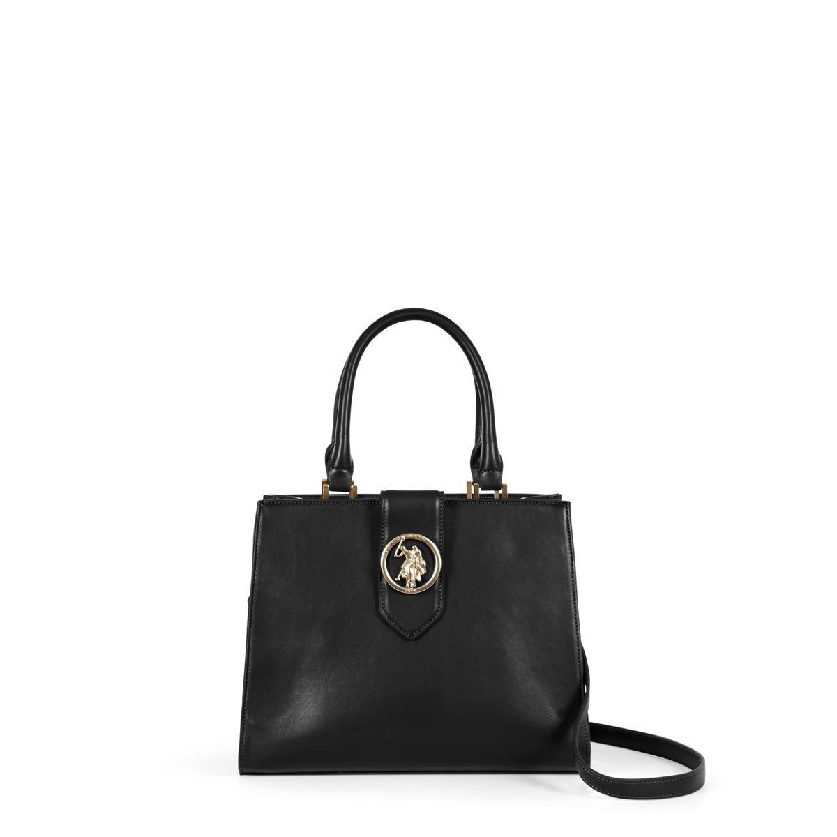 US Polo Assn. Τσάντα χειρός 29x15x23cm Vancouver Black
