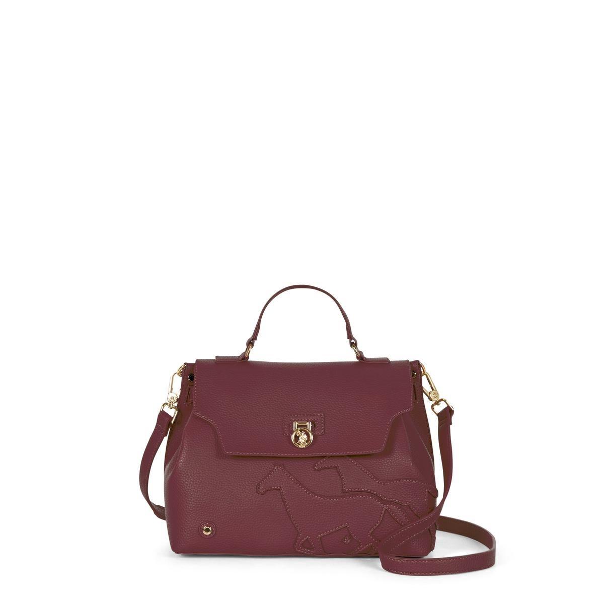 US Polo Assn. Τσάντα χειρός 29x13x21cm Newport Bordeaux