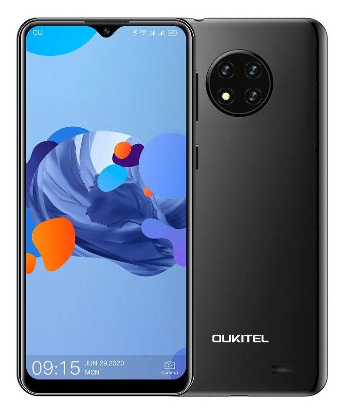 "OUKITEL Smartphone C19 6.49"" 2/16GB Android 10 Go Edition 4G μαύρο"