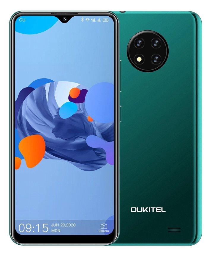 "OUKITEL Smartphone C19 6.49"" 2/16GB Android 10 Go Edition 4G πράσινο"