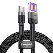 BASEUS καλώδιο USB σε Type-C CATKLF-PG1 40W double-sided 1m γκρι