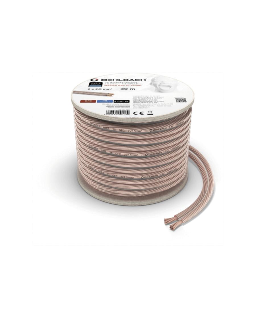 Oehlbach Speaker Wire SP-15 Καλώδιο Ηχείων 2 x 1,5 mm² 30m