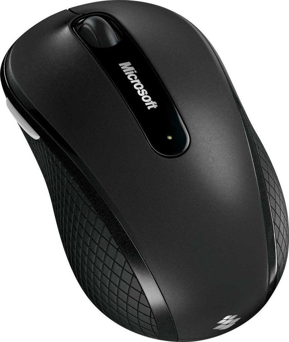 Micosoft Ασύρματο Ποντίκι 4000 Μαύρο