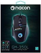 Nacon Λέιζερ Gaming Ποντίκι PC PCGM-350L Black