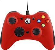 Nacon Ενσύρματο Gaming Χειριστήριο PC PCGC-100RED Red