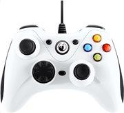 Nacon Ενσύρματο Gaming Χειριστήριο PC PCGC-100 Λευκό