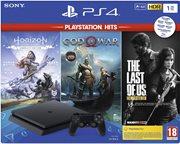 PS4 CONSOLE 1TB & GOW & HZD & TLOU