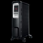 Sencor Ηλεκτρικό Καλοριφέρ Λαδιού με Οθόνη Led 9 Φέτες SOH 6109BK Μαύρο με Θερμοστάτη και 3 Βαθμίδες Θέρμανσης