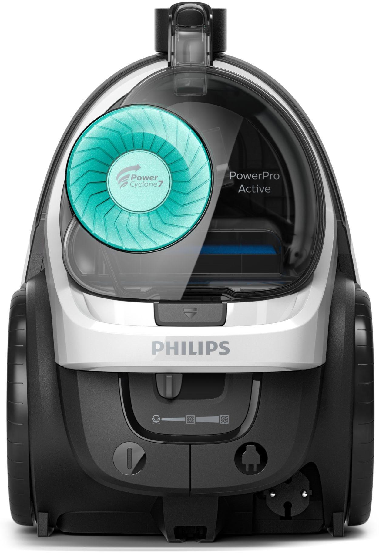 Philips Ηλεκτρική Σκούπα 650W με Κάδο 1.5lt PowerPro Active FC9553/09