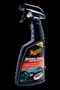 Meguiar's Προστατευτικό Σπρέϋ Φυσικής Γυαλάδας Για Ταμπλό Βινύλιο Και Λάστιχο Natural Shine Vinyl & Rubber Protectant G4116 473 ml