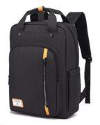 ARCTIC HUNTER τσάντα πλάτης GB00363-BK με θήκη laptop αδιάβροχη μαύρη