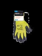 Simply Γάντια Εργασίας L Κίτρινα Μάυρα