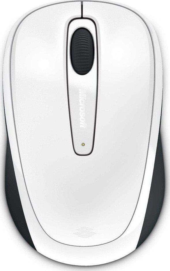 Micosoft Ασύρματο Ποντίκι 3500 Λευκό