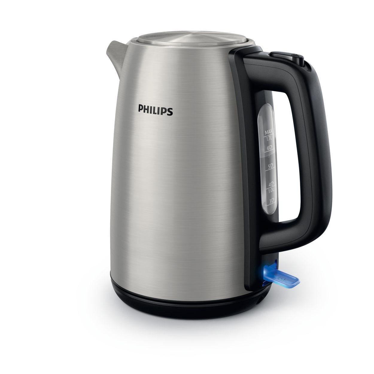 Philips Βραστήρας 1.7lt 2200W HD9351/91 Inox