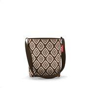 Reisenthel τσάντα ώμου shoulderbag S σειρά Diamonds Mocha