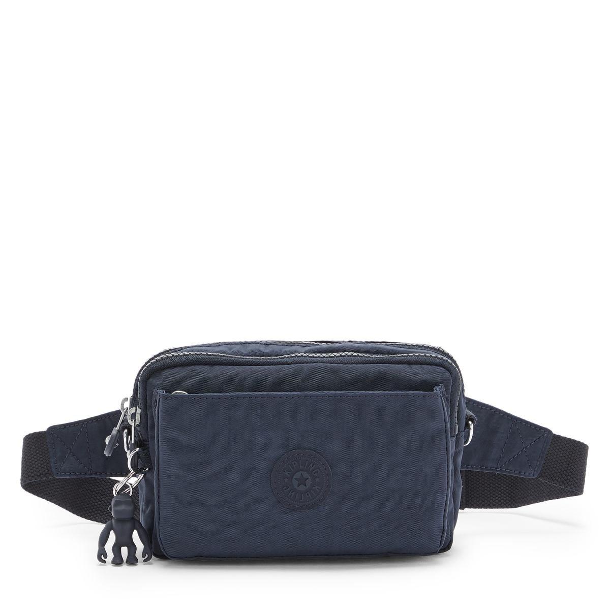 Kipling Τσάντα Ώμου Crossbody19x13x3cm Abanu Mini Blue