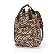 Reisenthel τσάντα πλάτης easyfitbag σειρά Diamonds Mocha