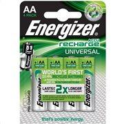Μπαταρία Energizer ΕΠΑΝ/ΝΗ AA/1300mAh BLISTER 4 PR (F016556)