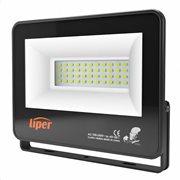 LIPER LED προβολέας LPFL-50BS01 50W 4000K 4000lm IP66 220V μαύρος